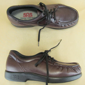 SAS Tripad Comfort Siesta Oxford Walking Moc Toe 8